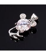 Christmas Gift, Leo Pendant in Sterling Silver, Animal pendant, Children... - $26.00
