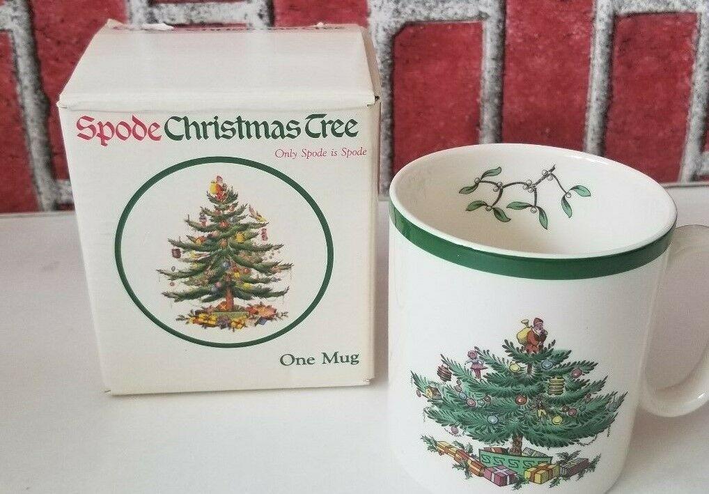 Spode Christmas Tree Green Trim S3324 Dinner Plate England New 10 Avail 10 3//4'