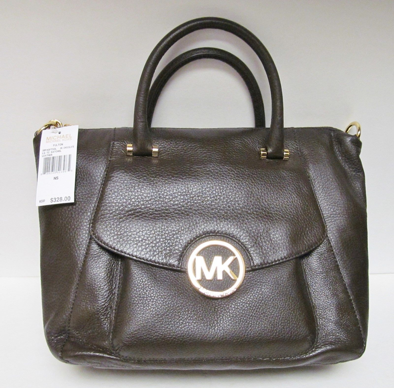 7edd5de6607f ... new arrivals new michael kors handbag fulton shoulder bag messenger  crossbody purse brown cb908 86194