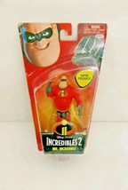 Disney Pixar The Incredibles 2 Mr. Incredible Poseable Figure Ages 4+ - $7.99