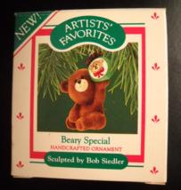 Hallmark Keepsake Christmas Ornament 1987 Beary Special Artists' Favorit... - $6.99