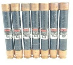 LOT OF 7 COOPER BUSSMANN FRS-R-20 DUAL ELEMENT FUSES FRSR20
