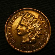 1899 1C Indian Head Cent Penny - $78.21