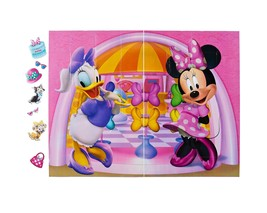 American Greetings Minnie Mouse Bow-Tique Photo Kit, Backdrop and Props,... - $17.71