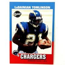 LaDainian Tomlinson 2001 Upper Deck Vintage Rookie Card #252 NFL HOF Cha... - $9.85