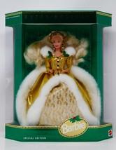 Mattel Happy Holidays Special Edition 1994 Barbie Doll NRFB - $56.99