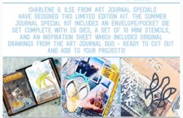Summer Art Journal Special. NEW!  Elizabeth Craft Designs.  image 2