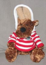 2006 Stuffed Plush Animal Adventure Caribou Coffee Hoody Hoodie Hug A Bou - $32.91