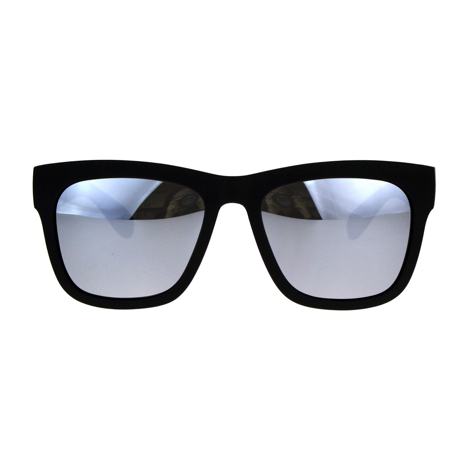 PASTL Sunglasses Polarized Lens Soft Matted Black Square Frame Unisex