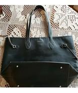Lot of Six (6) Black Handbags ~ Purses ~ Dockers ~ Tucker ~ Urban ~ Hilf... - $200.00