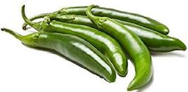 Sow No GMO Pepper Serrano Hot Chili Non GMO Heirloom Spicy Vegetable 25 Seeds - $1.95