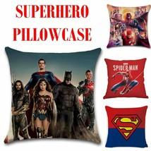 Superhero pillowcase - Superman - Batman - Spiderman - Aquaman - Thor - ... - $15.00
