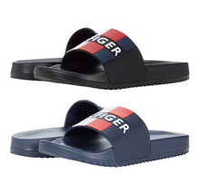 Men's Tommy Hilfiger Designer Casual Striped Slippers Romey Slide Sandals