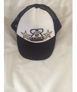 Nissun Rockstar Energy Drink Snapback Cap Black And White - $8.90