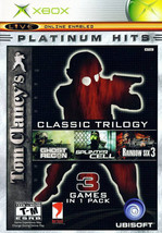 Tom Clancy's Classic Trilogy (Microsoft Xbox, 2004) - $5.65