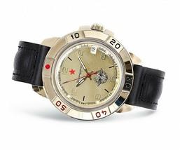 VOSTOK KOMANDIRSKIE. Men`s Russian solder military mechanical watch. 439451 - $26.50