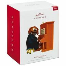 Hallmark Keepsake 2018 Disney The Muppets Rowlf Ornament with Sound New ... - $22.86