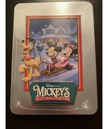 Mickey's Once Upon a Christmas Disney DVD in a Collectible Tin NEW - $24.99