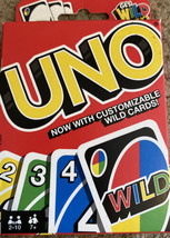 Uno Original Playing Card Game Mattel New Family Party Game - $9.89