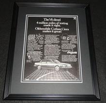 1984 Oldsmobile Cutlass Ciera 11x14 Framed ORIGINAL Vintage Advertisement - $34.64