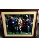 Upper Deck UDA 16x20 Framed and Signed Golf Photo Tiger, J Nicklaus, A P... - $4,999.99