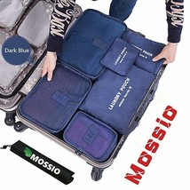 Mossio 7 Set Packing Cubes with Shoe Bag - Compression Travel Luggage Or... - $25.40