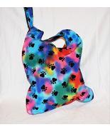 Rainbow Paw Prints Knot Bag - $25.75