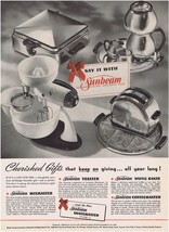 1941 Sunbeam Appliances Kitchen Art Print Ad - $9.99