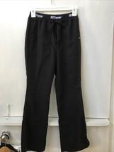Grey's Anatomy Women's Black Scrub Bottom 4275P 3 Pocket Logo Waistband ... - $12.95