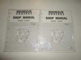 2001 Honda Engines GX22 GX31 Shop Service Supplement Manual New Types Ta TA2 Set - $46.48