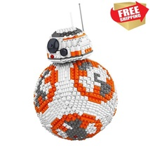 Lego Compatible Star Wars Series BB-8 Robot Building Toy Blocks 2069 Pcs - $145.00