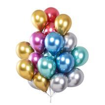 25 Multi Color Chrome Balloons - $7.99