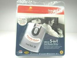 SanDisk ImageMate 5 in 1 2.0 USB Memory Card Reader Writer Easy Transfer... - $19.79
