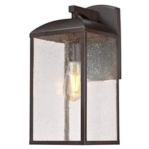 Westinghouse Lighting 6374200 Piazza One-Light Outdoor Wall Lantern, Victorian B - $140.51