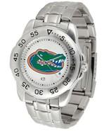 Florida Gators Licensed Men Sport Steel Band Watch - $69.50