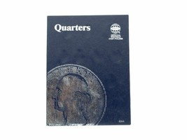 Plain Quarter, No dates, 43 openings Coin Folder Album by Whitman  - $5.99
