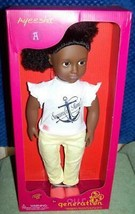 """Our Generation AYEESHA 18"""" AA Doll New - $39.48"""