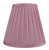 Urbanest Hardback Empire Lamp Shade 5-inch by 9-inch by 8.5-inch, Pink P... - $17.81