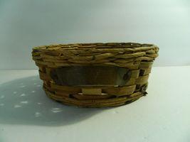 Vintage Pyrex Wicker Wood 2 Qt Casserole Dish Holder Cradle Fits 024 624 684 image 5