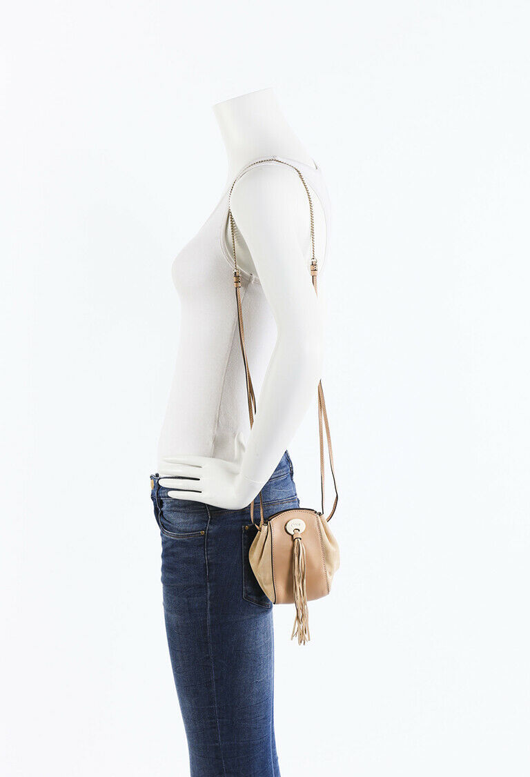 Chloe Mini Sac Fringe Crossbody Bag