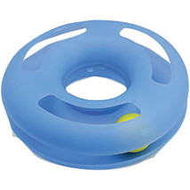 Booda Light Blue Crazy Circle Cat Toy Small 029695293986 - $19.52