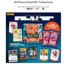2019 Panini Playoff Football Hobby Box - 2 Autos + 2 Panini Football Packs - $129.99