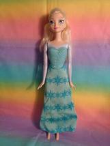 Disney Frozen Elsa Doll Plastic Body Dressed - as is - $7.18