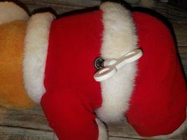 Christmas Winnie The Pooh Wind Up Plush Bear - Wish You A Merry Christmas Disney image 3