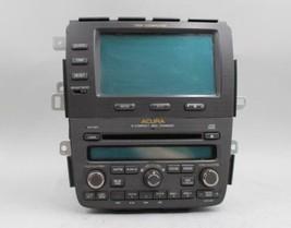 03 04 05 06 ACURA MDX AM/FM RADIO CD PLAYER RECEIVER W/NAVIGATION DISPLA... - $197.99