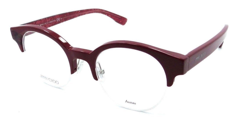 02461a186241 Jimmy Choo Rx Eyeglasses Frames JC 151 QA1 and 47 similar items