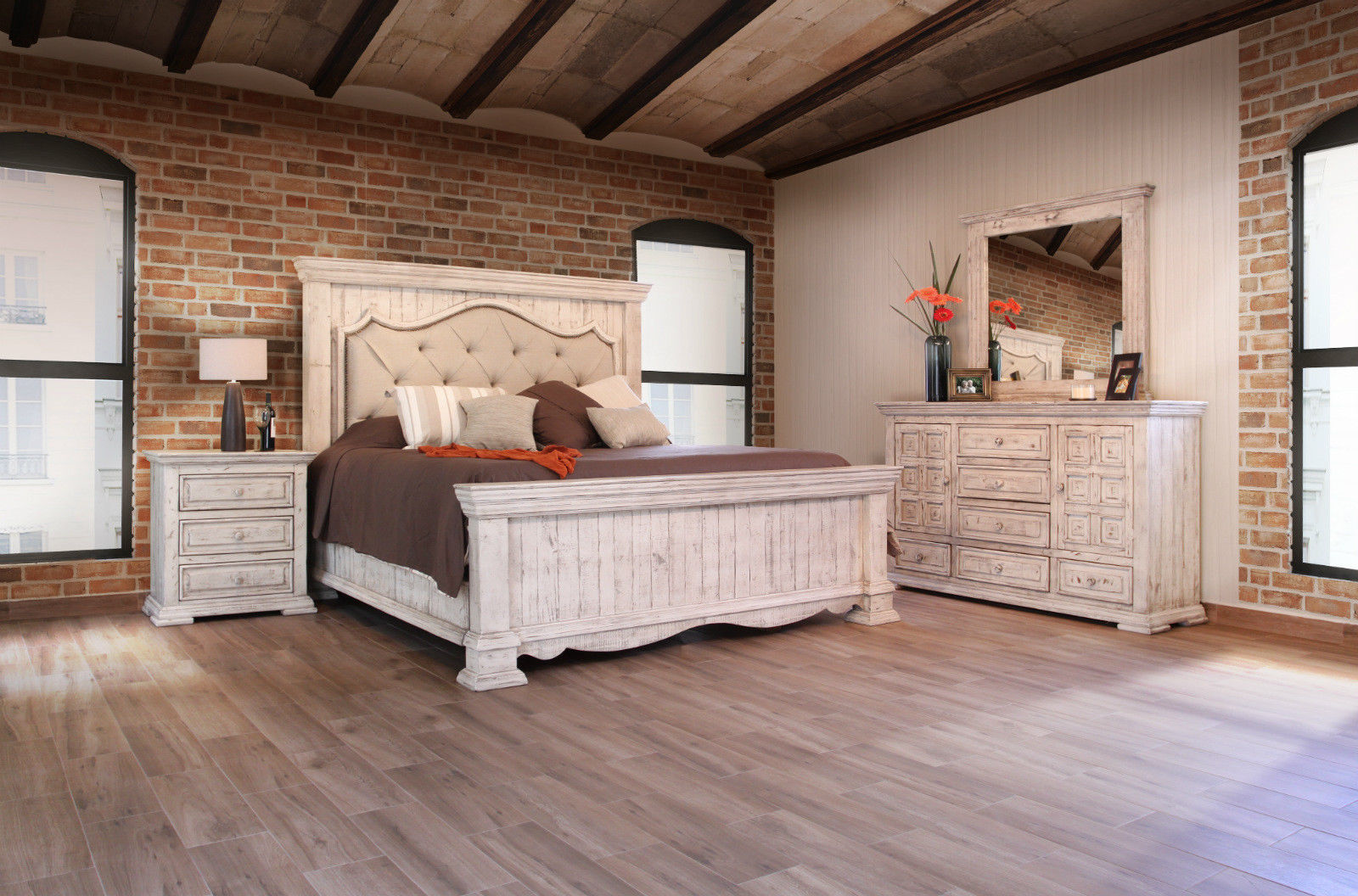 King Size Tufted Penelope Bed