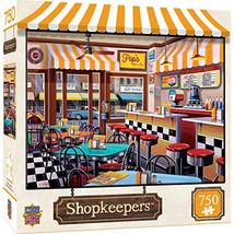 750 Piece Jigsaw Puzzle For Adult, Family, Or Kids - Pop'S Soda Fountain By Mast - $12.34