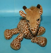 "Russ Berrie GANDI GIRAFFE 10"" Zoo Beanies Bean Bag Plush Safari Animal S... - $17.39"