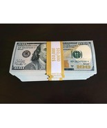 50.000 PROP MONEY REPLICA 100s New Style Full Print For Movie Video Etc 5 STACKS - $95.99